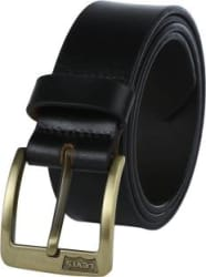 Levi s Men Casual Black Genuine Leather Belt