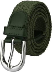 ZORO Women Casual Green Canvas Belt