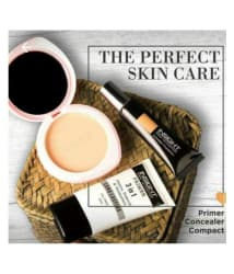 Insight Makeup Kit Concealer Foundation, Compact & 3-in-1 Primer Pack Of 3