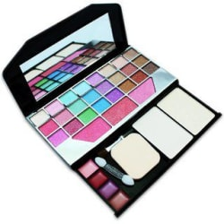 TYA Laptop Fashion Makeup Kit With 48 Color Eye Shadow Compact Blusher Etc -590