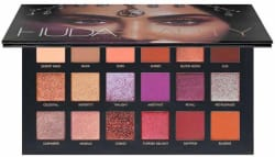 Makeover Professional Huda Beauty 18 Desert Dusk Palette Pack of 18