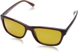 Fastrack Wayfarer Sunglasses Yellow, Brown