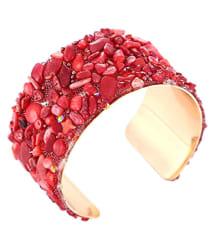 YouBella Jewellery Crystal Beads Studded Bangle Kada Bracelet for Girls and Women: Buy YouBella Jewellery Crystal Beads Studded Bangle Kada Bracelet for Girls and Women Online in India on Snapdeal