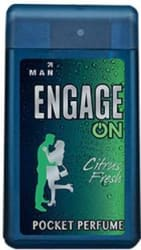 Engage On Citrus Fresh Pocket Perfume - 18 ml For Men