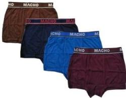 Macho Men Brief Pack of 4