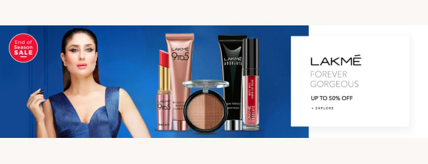 Lakme Beauty Products - Buy Original Lakme Product Online