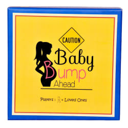 Pamper Hamper s Baby Bump Ahead Board Game (PH-P-M-W-4)