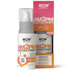 WOW Skin Science AM2PM Sunscreen Sunscreen Lotion SPF 50 PA++ 100 ml