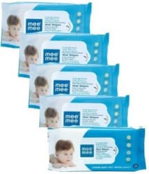 MeeMee Anti Bacterial Caring Baby Wet Wipes with Lemon Fragrance 360 Pieces