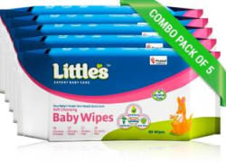 Little s Soft Cleansing Baby Wipes 400 Pieces