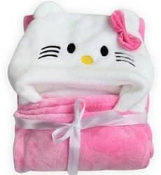 The Legend Animal Crib Swadding Baby Blanket Microfiber, Multicolor, Pink