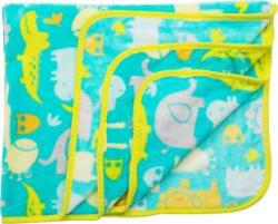 LuvLap Printed Crib AC Blanket Polyester, Multicolor