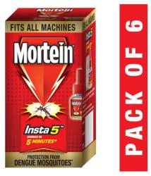 Mortein Insta5 Vaporizer Refill - 35 ml (Pack of 6)