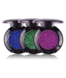 Miss Rose Gel Glitter Shimmer Midnight Blue, Green & Purple Eyeshadow Pack Of 3