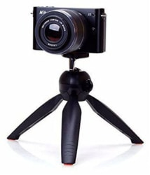 Drumstone Portable Tripod Stand Holder for DSLR Camera,Cell Phone, Adjustable Mount for YouTube,TikTok Videos