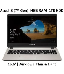 ASUS X507UA- EJ313T ( Core i3-7th Gen /4 GB/ 1TB HDD / 15.6\