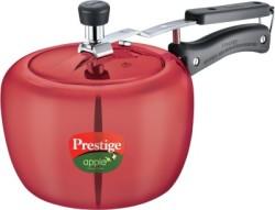 Prestige Apple Plus Aluminium 3 L Induction Bottom Pressure Cooker(Aluminium)