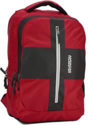 American Tourister AMT Juke 21 L Laptop Backpack Red, Black
