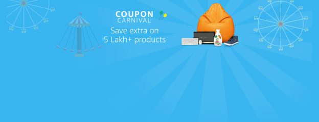 Amazon Coupons: Checkout Latest Amazon Discount Coupons Online Across Categories from Top Brands at Amazon.in