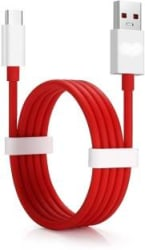 RSC POWER + One P USB Type C Cable Compatible with All Phones With Type C port,Red,Sync and Charge Cable