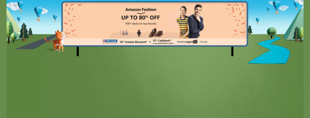Amazon Fashion: Explore Clothing, Footwear & Accessories for Men & Women Online in India