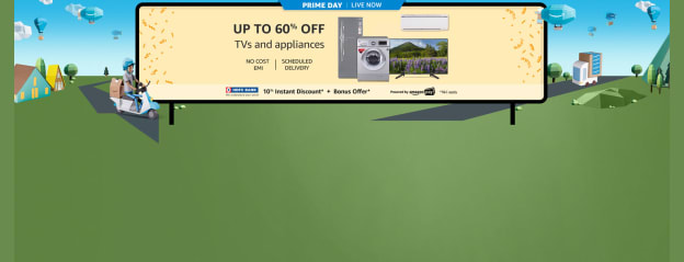 TVs and appliances sale @ Amazon.in