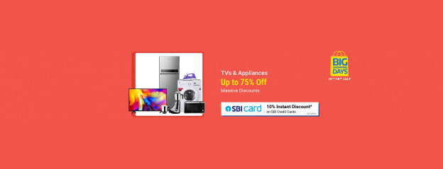 Big Shopping Days Tvs Acs Appliances Top Offer Sale Store Online - Buy Big Shopping Days Tvs Acs Appliances Top Offer Sale Online at Best Price in India
