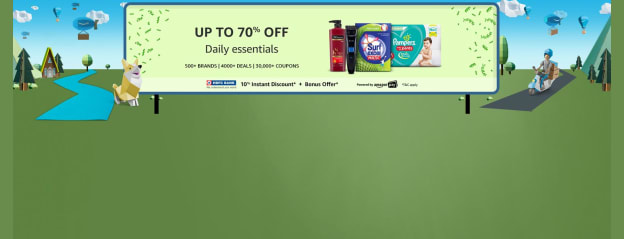 Up to 40% off Daily Essentials @ Amazon.in