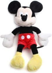 Disney Plush Mickey Flopsie New 10 - Soft Toy - 25 cm Multicolor