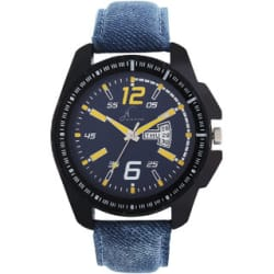Jack Klein Stylish Multicolor Blue Strap Day And Date Working Analogue Wrist Watch