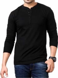 Style Shell Men s Cotton Long Sleeve Top (Vnk)