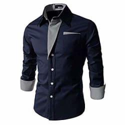 IndoPrimo Men s Cotton Casual Shirt for Men Full Sleeves
