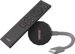 Airtel Xstream Smart Stick Media Streaming Device with built-in Chromecast Black, Grey