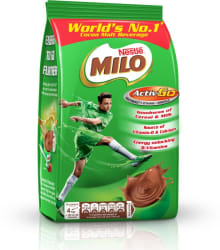 Nestle MILO Activ-Go Powder Pouch Nutrition Drink 400 g, Chocolate Flavored