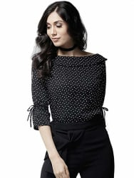Istyle Can Women s Polka dot Regular fit Top