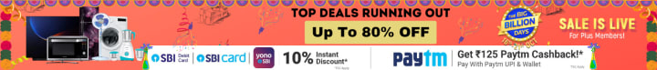 Flipkart offers on Electronics - Top Deals Running Out | Up To 80% OFF | Shop Now.