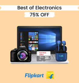 Flipkart offers on Electronics - Big Savings Days Offers | Truewireless Earbuds | From Rs. 999 | Shop Now.