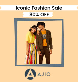Ajio offers on Women Clothing - Iconic Fashion Sale | (17 - 21st Sept) | Up To 50 - 80% OFF | Shop Now.