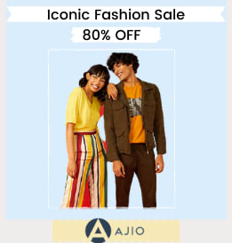 Ajio offers on Women Clothing - Iconic Fashion Sale | Up To 80% OFF | Shop Now.