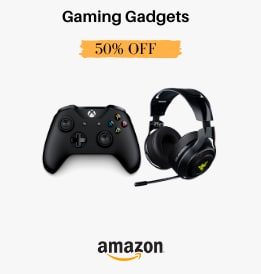 Amazon offers on Electronics - Grand Gaming Days | Gaming Gadgets | Up To 50% OFF | No Cosyt EMI | Exchange Offers