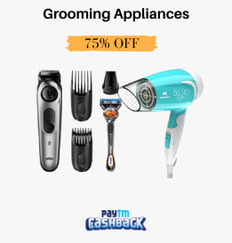 Paytmmall offers on Trimmers - Grooming Sale | Grooming Appliances For You | Range Starting Rs. 259 | Shop Now.