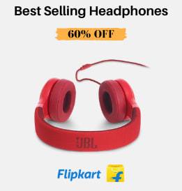 Flipkart offers on Audio Devices - Best Selling Headphones | Up To 60% OFF | Jbl, bOAT & more.