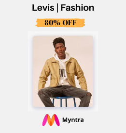 Myntra offers on Men Fashion Accessories - Levis | Fashion For Men & Women | Up To 50% OFF