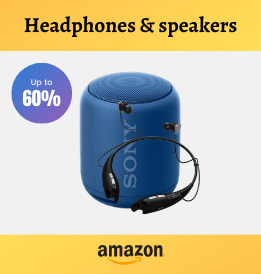Amazon offers on Audio Devices - Stay entertained while you work | Shop Headphones & speakers | Up To 60% OFF.