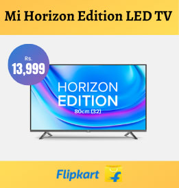 Flipkart offers on Televisions - Mi 4A Horizon Edition LED Smart Android TV | Just Rs. 13,999 | Shop Now.