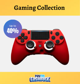 Paytmmall offers on Electronics - Gaming Collection | Flat 40% OFF | Shop Now.