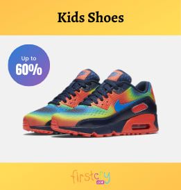 Firstcry offers on Kids Footware - Kids Fashion | Flat 60% OFF | Shop Now.