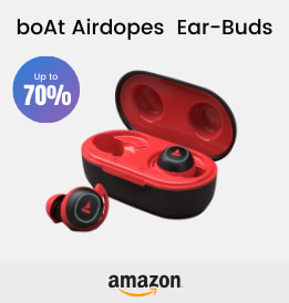 Amazon offers on Audio Devices - boAt Airdopes 441 TWS Ear-Buds | Up To 70% OFF | Shop Now.