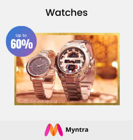 Myntra offers on Men Watches - Watches | Up To 60% OFF | Shop Now.