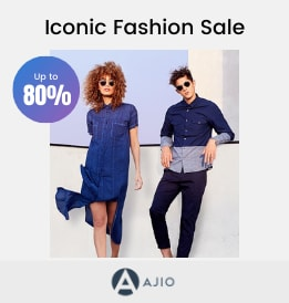 Ajio offers on Women Clothing - Iconic Fashion Sale | Get Up to 50 - 80% OFF | Shop Now.